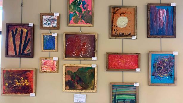 REACH Art at the South Suburban Branch Library